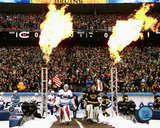 Montreal Canadiens & Boston Bruins Team Indroductions 2016 NHL Winter Classic Photo