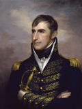 American History Painting of President William Henry Harrison Print by  Stocktrek Images