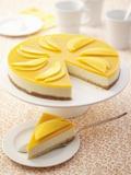 Mango Cheesecake Fotografisk tryk af Marc O. Finley