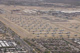 Davis-Monthan Air Force Base Airplane Boneyard in Arizona Photographic Print by  Stocktrek Images