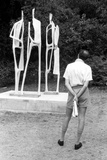 The Critic - Holland Park Sculpture Photographic Print by Ken Russell
