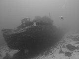 Wreck Diving on the Superior Producer in Curacao Photographic Print by  Stocktrek Images