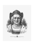 Vintage Print of Christopher Columbus Posters by  Stocktrek Images