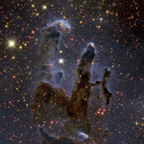Messier 16, the Eagle Nebula in Serpens Photographic Print by  Stocktrek Images