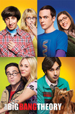 The Big Bang Theory- Blocks Plakater