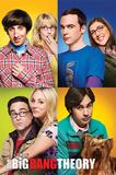 The Big Bang Theory- Blocks Plakaty