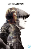 John Lennon- Double Exposure Poster