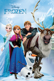 Frozen- Chillin By The Lakeside Posters