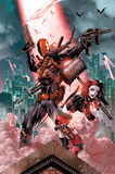 Dc Comics- Deathstroke & Harley Quinn Affiches