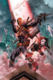 Dc Comics- Deathstroke & Harley Quinn Affischer
