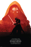 Star Wars The Force Awakens- Kylo Ren Red Affiches
