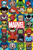 Marvel- Kawaii Characters Affischer