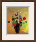 Vase of Flowers Framed Giclee Print by Odilon Redon