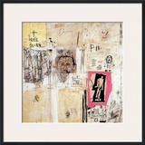 Big Shoes 2 Framed Giclee Print by Jean-Michel Basquiat