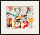 Untitled Framed Giclee Print by Jean-Michel Basquiat