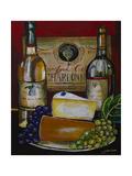 Wine and Cheese IV Giclee Print by Jennifer Garant