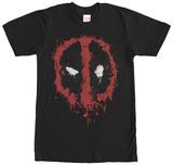 Deadpool- Splatter Icon T-skjorter