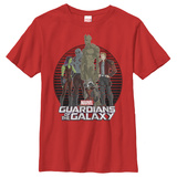 Youth: Guardians Of The Galaxy- Glamour Shot Tshirts