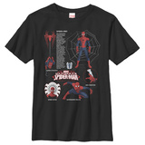 Youth: Spiderman- Ultimate Anatomy T-Shirt