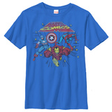 Youth: Marvel- Battle Zone Shirt