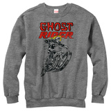 Crewneck Sweatshirt: Ghost Rider- Stunt Ride T-shirts