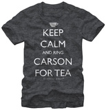 Downton Abbey- Ring Carson T-Shirt
