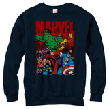 Crewneck Sweatshirt: Avengers- Classic Team T-Shirt