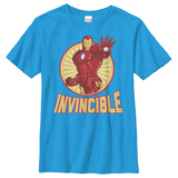 Youth: Iron Man- Invincible T-shirts