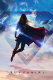 Supergirl- Up In The Clouds Prints