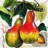 Tuscan Sun Pears Wood Print by Jennifer Garant