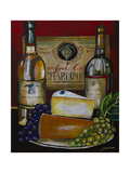 Wine and Cheese IV Prints by Jennifer Garant