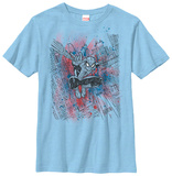 Youth: Spiderman- Sketched Out T-shirts