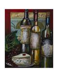 Wine and Cheese I Giclee Print by Jennifer Garant