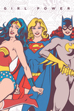 DC Comics- Girl Power Stampe