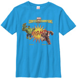Youth: Contest Of Champions- Hulk Vs. Iron Man T-shirts