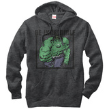 Hoodie: Incredible Hulk- Be Incredible Pullover Hoodie