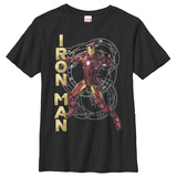 Youth: Iron Man- High Tech Shirt