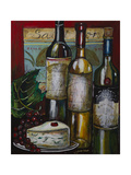 Wine and Cheese I Posters by Jennifer Garant