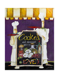 Cooked with Love Giclee Print by Jennifer Garant
