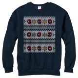Crewneck Sweatshirt: Deadpool- Taco Ugly Sweater Tričko