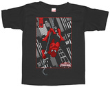 Toddler: Spiderman- Out For A Swing Tshirts