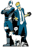 Quantum And Woody - Valiant Entertainment Cardboard Cutouts