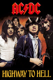 AC/DC- Highway To Hell Plakaty