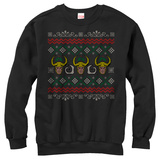 Crewneck Sweatshirt: Loki- Holly Sweater Tričko