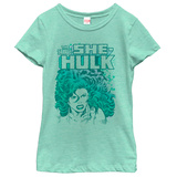Young Girls: Incredible Hulk- Savage She Hulk Shirt