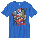Youth: Avengers- Hero Panels T-shirts