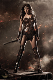 Batman vs. Superman- Wonder Woman - Poster