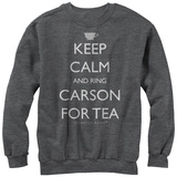 Crewneck Sweatshirt: Downton Abbey- Ring Carson Tričko