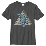 Youth: Captain America- Rush To Action T-Shirt