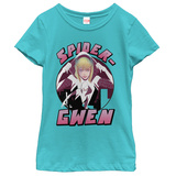 Young Girls: Spiderman- Spider Gwen T-shirts